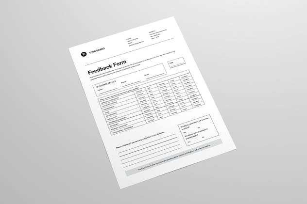 Feedback Form - product preview 1