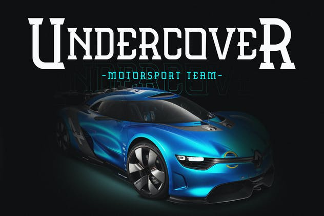 Automova - Sport Font - product preview 2