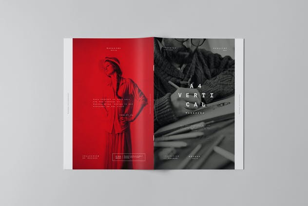 A4 Brochure Mock-up 3 - product preview 0