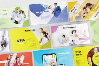 Thumbnail for BUSINESS COLORFUL - Google Slide V432