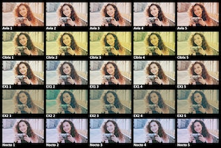 Thumbnail for 50 Retro Films Lightroom Presets & LUTs