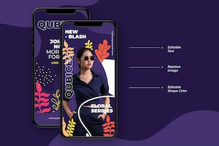 Thumbnail for Summer Fashion Sale Instagram Story Template