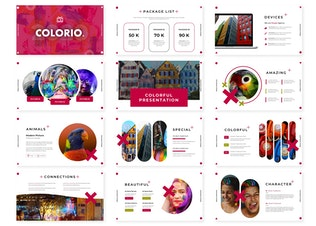Thumbnail for Colorio - Google Slide Template