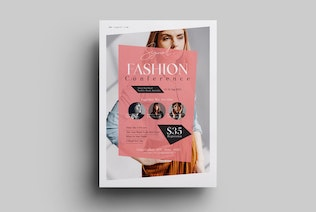 Fashion Conference Event Flyer
