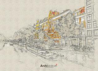 Миниатюра для Architectum 3 - Архи Эскиз Photoshop действие