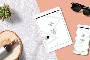 Thumbnail for Gorgeous iPad Mockup Scenes
