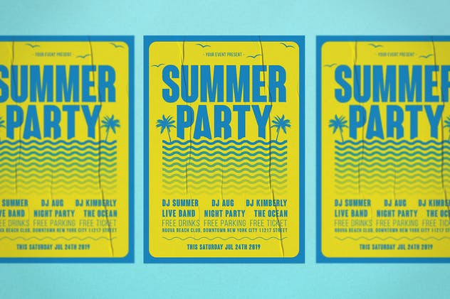 Summer Flyer - product preview 3