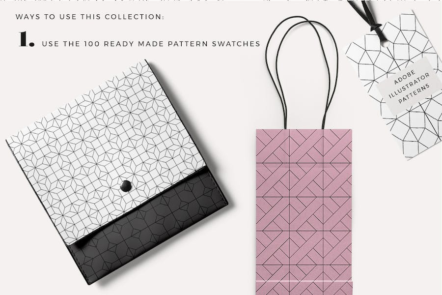 100 Tiles Patterns - product preview 1