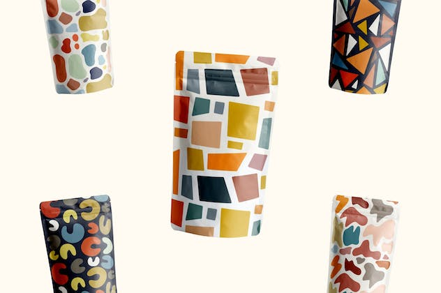 Abstract Shape Retro Patterns - product preview 2