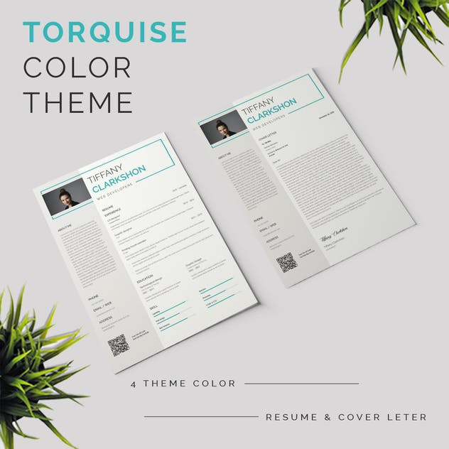 Resume & Cover Letter Template - product preview 3