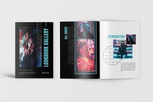 Thumbnail for Lookbook Magazine Template