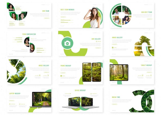 Cluminer - Powerpoint Template - product preview 2