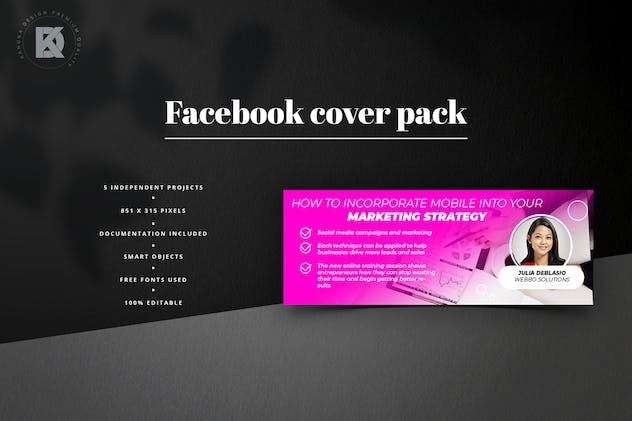 Webinar Facebook Cover Pack - product preview 2