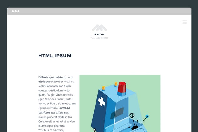 Mood Tumblr Theme - product preview 2