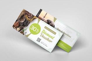 Ramadan Iftar AI and PSD Gift Voucher
