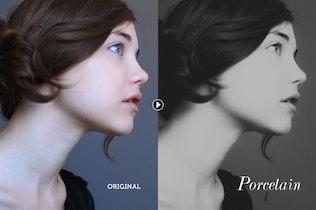 Thumbnail for Porcelain B&W Lightroom Presets