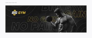 Thumbnail for Gym & Personal Fitness Trainer – Social Media Kit