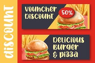 Miniatura para Spicy Burger - Delicious Unique Font