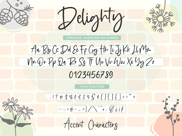 Delighty YH - Modern Handwritten Font - product preview 2