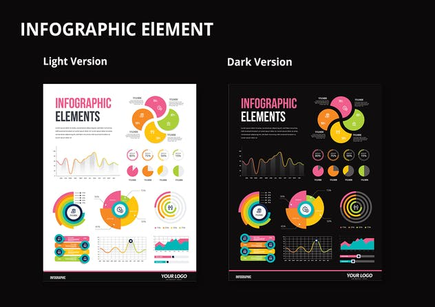 Infographic Examples for Designer V.53 - product preview 2