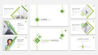 Миниатюра для CAME - Шаблон слайдов Google