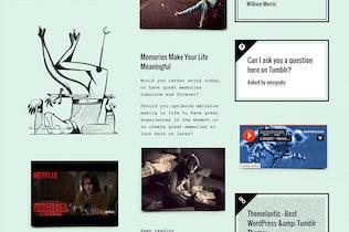 Thumbnail for Memorabilia Tumblr Theme