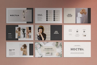 Thumbnail for Noctua PowerPoint Brand Identity Guidelines