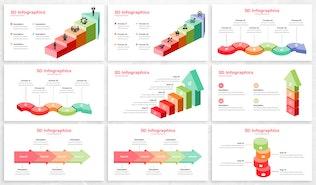 3D Infographics For Keynote Presentation