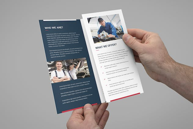 Brochure – Auto Repair Tri-Fold - product preview 0