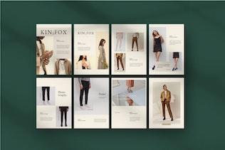 Kinfox - A4 Potrait Keynote