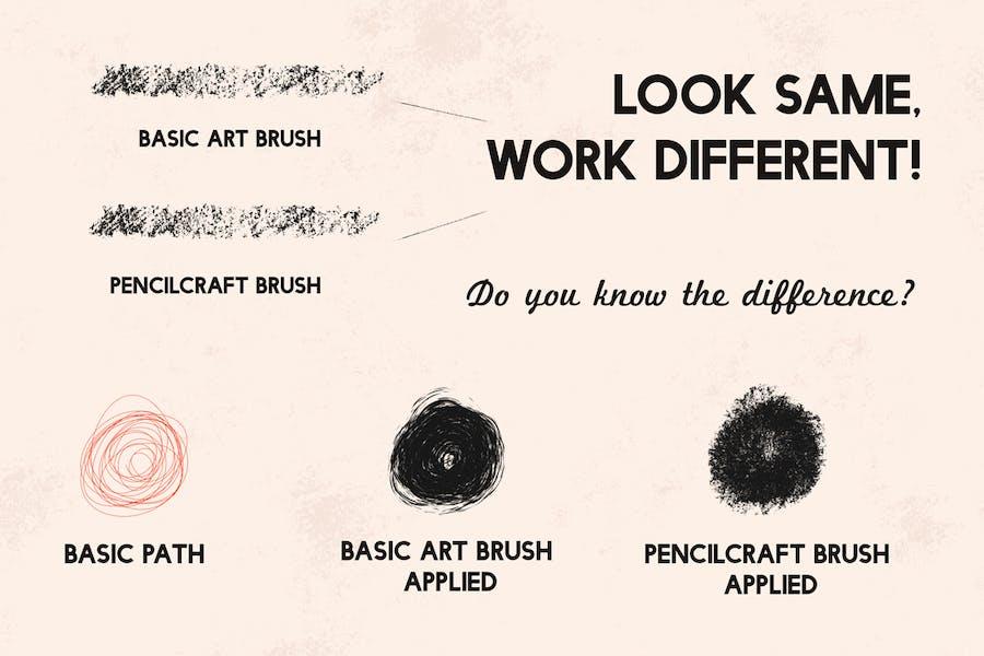 Кисти для карандашей для Adobe Illustrator