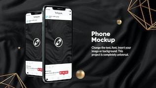 Thumbnail for 10 Black Phone Mockups