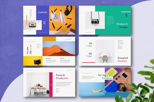 Thumbnail for PRODUCTIX - Creative Powerpoint Template