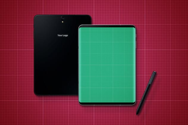 S9 Tablet Mockup - product preview 4