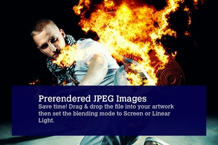 Thumbnail for 80 Photorealistic Fire Explosions