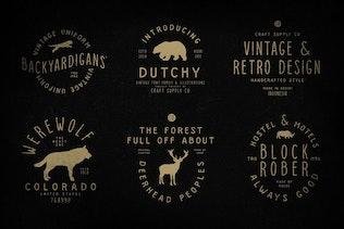Thumbnail for Dutchy - Vintage Type Family