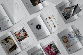 Thumbnail for Creative Agency Portfolio White
