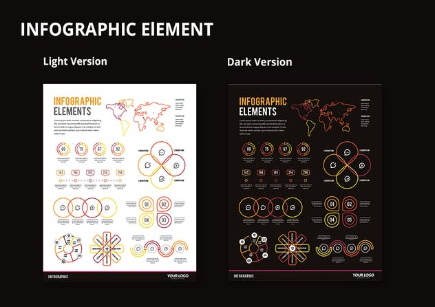 Infographic Examples for Designer V.49 - product preview 2