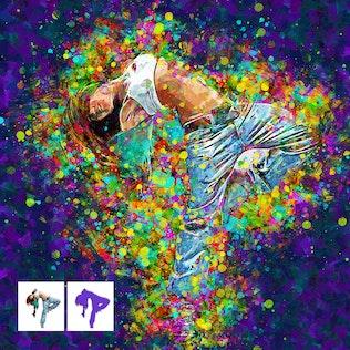 Thumbnail for Acrylum - Modern Art Photoshop Action
