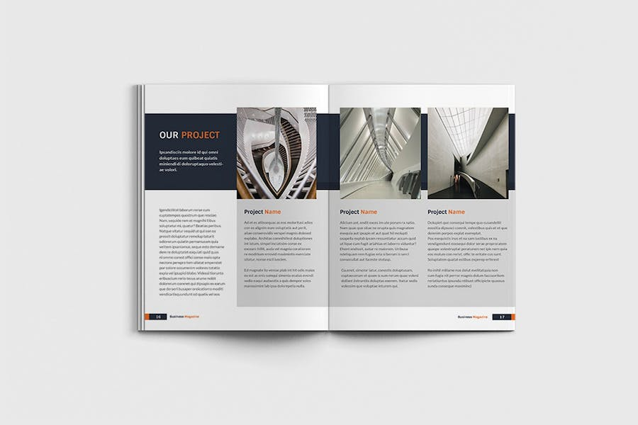 Workfice - A4 Business Brochure Template - product preview 8
