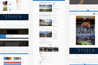 Thumbnail for Continent — Multipurpose News PSD Template