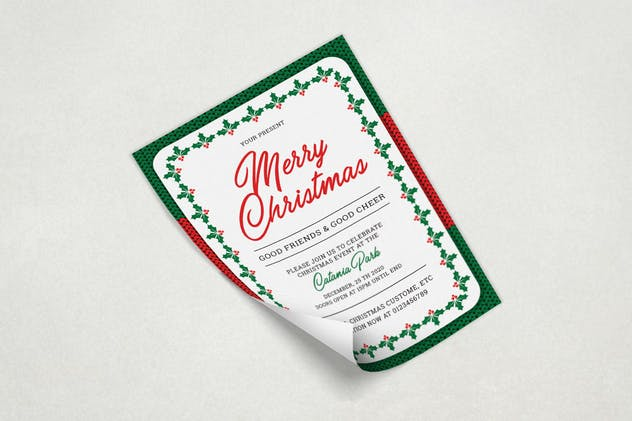 Christmas Invitation - product preview 2