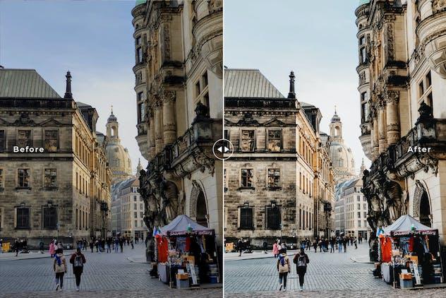 Dresden Mobile & Desktop Lightroom Presets - product preview 2