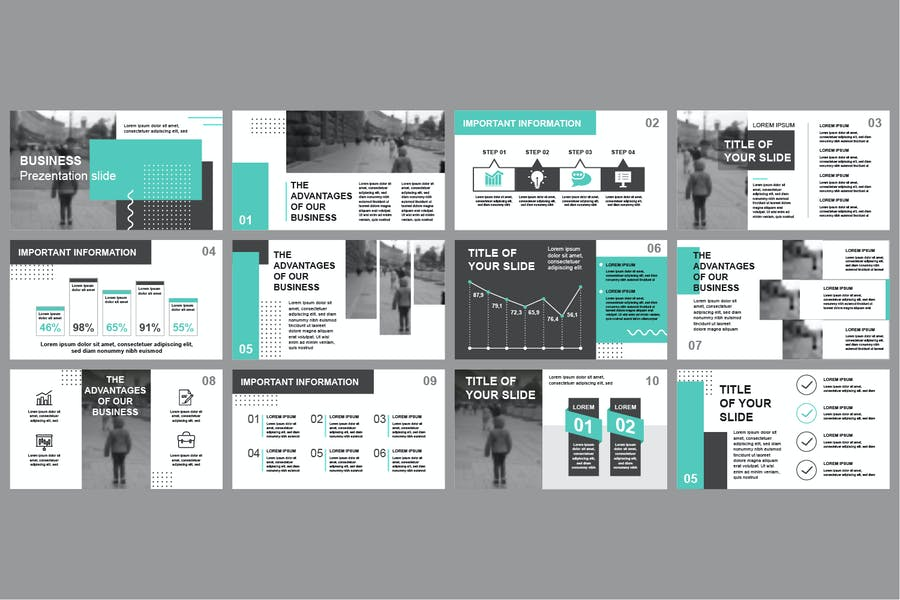 Business Powerpoint Slide Templates - product preview 3