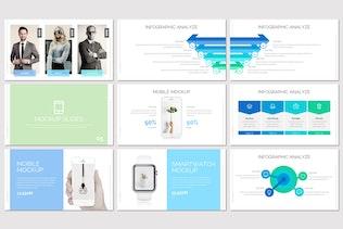 Миниатюра для Acile - Бизнес Google Слайды Шаблон