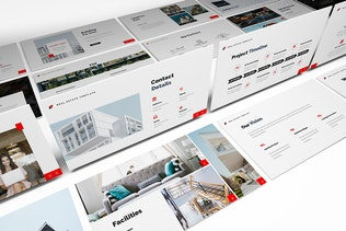 Thumbnail for La Estate Real Estate Google Slides Template
