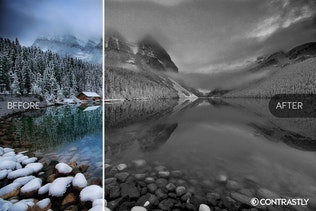 Thumbnail for Monochromatic Photoshop Actions