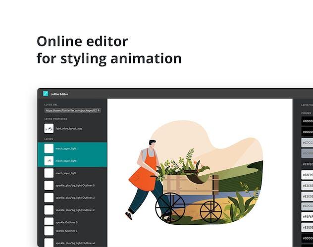 Lottie Animation for WordPress Editor