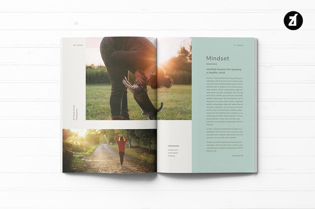 Healthy Lifestyle Magazine - product preview 8