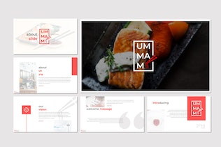 Thumbnail for Ummami - Powerpoint Template
